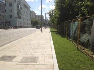 Устройство тротуаров